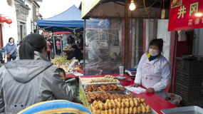 Chinese street market Royalty Free Stock Photography