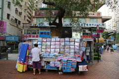 Chinese Street Merchant Royalty Free Stock Photos