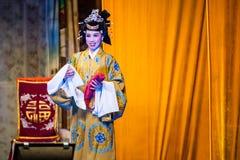 Chinese Street Opera Stock Photo