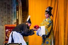 Chinese Street Opera Royalty Free Stock Photography