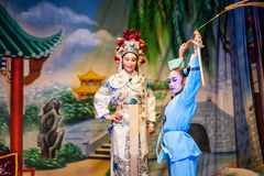 Chinese Street Opera Royalty Free Stock Photo