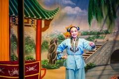 Chinese Street Opera Stock Photography