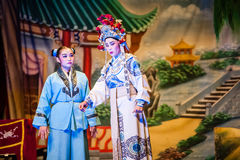 Chinese Street Opera Royalty Free Stock Photos