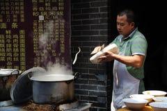 Chinese Street restaurants Stock Photo