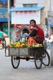 Chinese street seller Stock Image