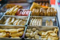 Chinese street snack Stock Photos