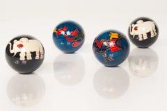 Chinese stress balls Stock Image
