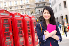 Chinese student in London Stock Images