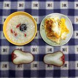 A Chinese student's breakfast Stock Photos