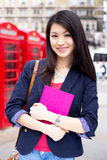 Chinese student Royalty Free Stock Image