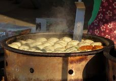 Chinese Stuffed Buns Royalty Free Stock Images