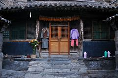 Chinese style ancient house Stock Image