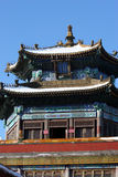 Chinese Style Architecture. Tower of Chinese fane - classical Chinese style architecture Stock Image