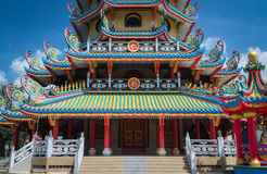 Chinese style architecture Royalty Free Stock Photography