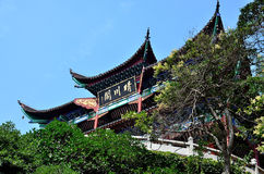 Chinese style architecture Stock Images