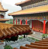 Chinese style architecture of Dragon Temple Royalty Free Stock Photo