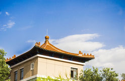 Chinese style architecture Stock Photo