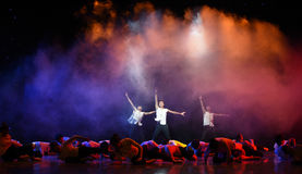 Chinese style Ballet dance Royalty Free Stock Image
