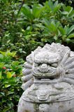 Chinese style beast statuary Stock Photo
