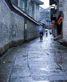 Chinese style building. It is chinese style building, very typical. with red lanterns. location is Fenghuang of China Stock Photography