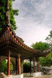 Chinese style building in the garden Royalty Free Stock Photography