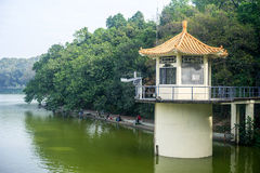 Chinese style building Royalty Free Stock Images