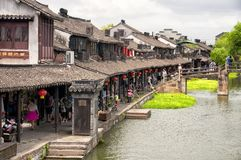 Xitang ancient water Town China Stock Images