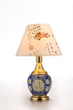 Chinese style ceramic table lamp Stock Photos