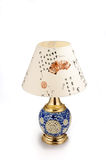 Chinese style ceramic table lamp Royalty Free Stock Images