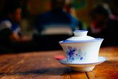 Chinese-style ceramics Teacup stock photos