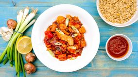 Chinese Style Chicken Kung Po