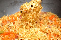 Chinese style chop noodle Royalty Free Stock Photo