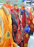 Chinese-style clothing Stock Image