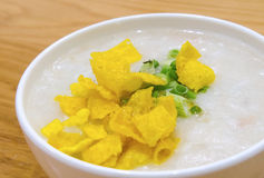Chinese style congee Royalty Free Stock Photos