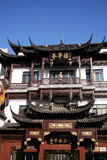 Chinese style construction. Double-deck construction of chinese ancient style Stock Images