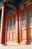 Chinese Style Door Stock Image