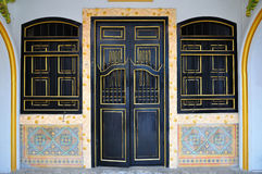 Chinese style door. The beautiful chinese style door Royalty Free Stock Photography
