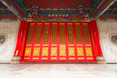 Chinese style door Royalty Free Stock Photos