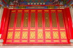 Chinese style door Stock Photography