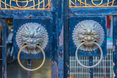 Chinese style door Stock Photo