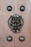 Chinese style door opener Stock Photography