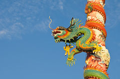 Chinese style dragon Stock Images