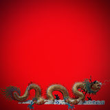 Chinese style dragon Stock Photos