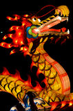 Chinese style dragon lantern in lantern festival Stock Images