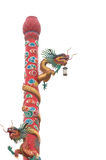 Chinese style dragon statue Royalty Free Stock Photos