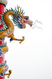 Chinese style dragon statue  Royalty Free Stock Photo