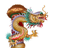 Chinese style dragon statue Royalty Free Stock Image
