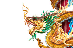 Chinese style dragon statue Royalty Free Stock Photography