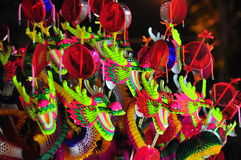 Chinese style dragon toy Royalty Free Stock Image