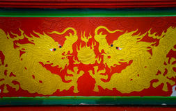 Chinese style dragon Royalty Free Stock Images